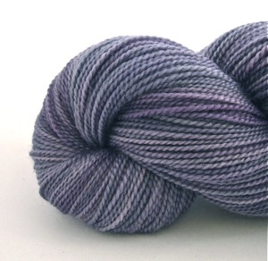 Hand dyed 100% British Bluefaced Leicester 4ply wool 'yarn 'Lavurple'
