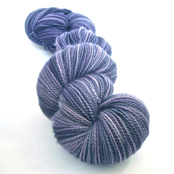 Hand Dyed British Bluefaced Leicester Sock Wool