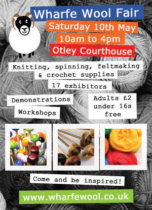 Wharfe Wool Fair 10 may 2014 Otley Courthouse