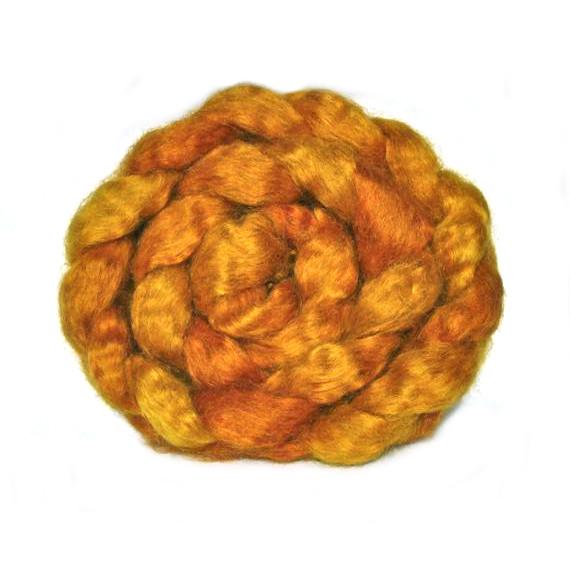 Wensleydale Fibre - Onion Skin