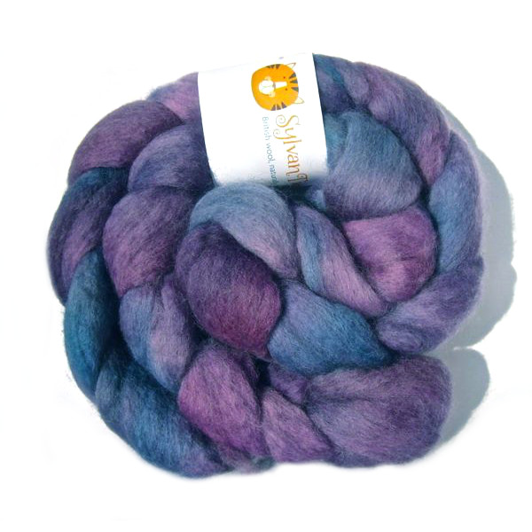 Shetland Fibre - Blueberry Crush