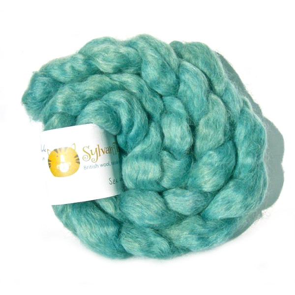 Wensleydale Fibre - Sea Green
