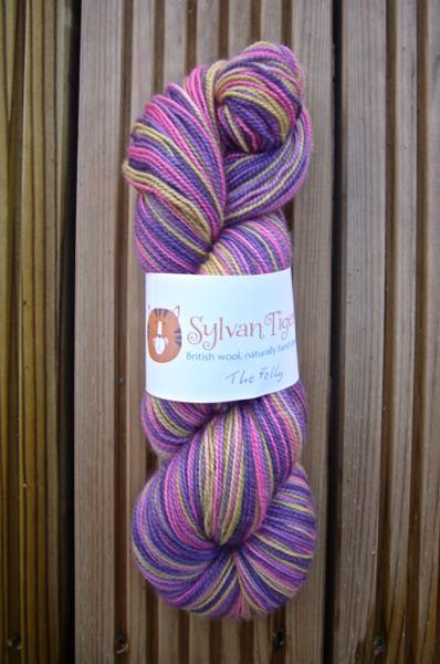 Another one originally dyed for a Baa Baa Brighouse yarn club 'The Folly'.